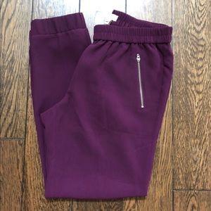 J. Crew Pants - J. Crew Turner Crepe Jogger Size 4 Purple